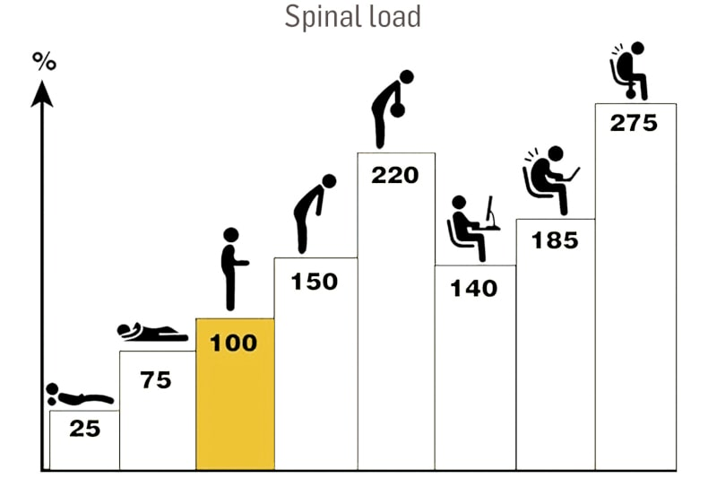Spinal load