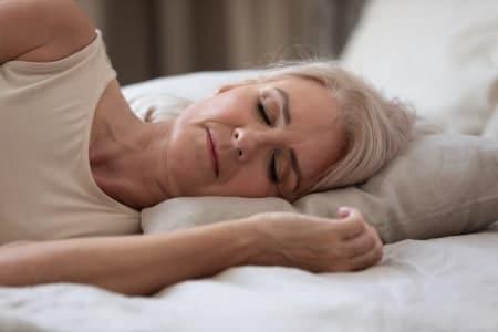 deep sleep older persons